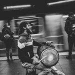 Ph. Florian Schneider - Musician @ New York Subway