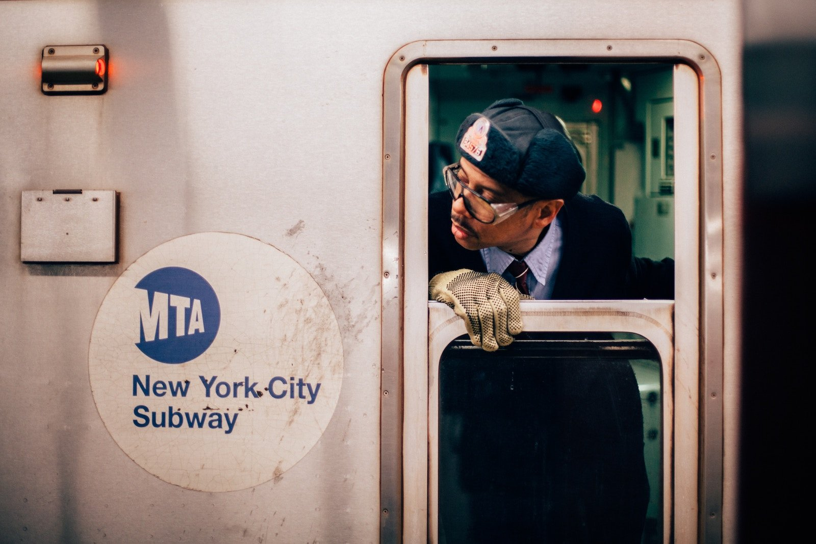 Ph. Oliver Cole. A photograph that documents life under New York City. We spent hours at this station capturing Subway workers who help to keep the city running.